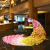 Shangri-La Hotel Kuala Lumpur Celebrates Deepavali with Magnificent Floral Peacock