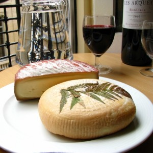 wine and cheeze