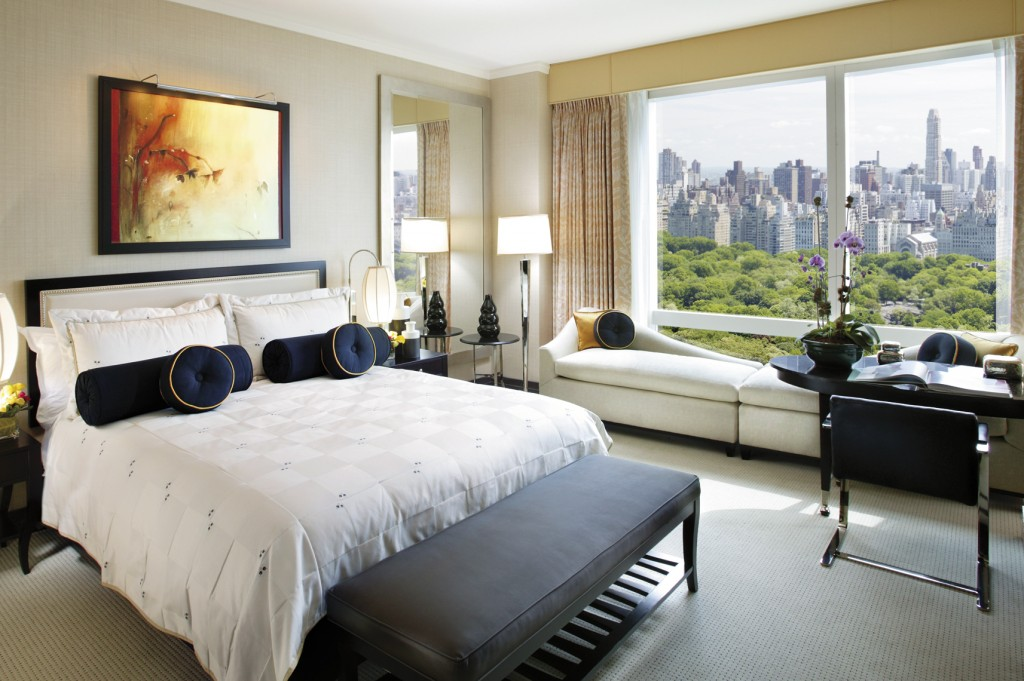 Central Park View room with chaise