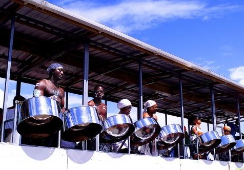 Steel Pan Barbados Crop over Festival