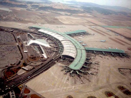 south korea international airport