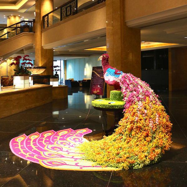 Deepavali Floral Centrepiece at Shangri-La KL